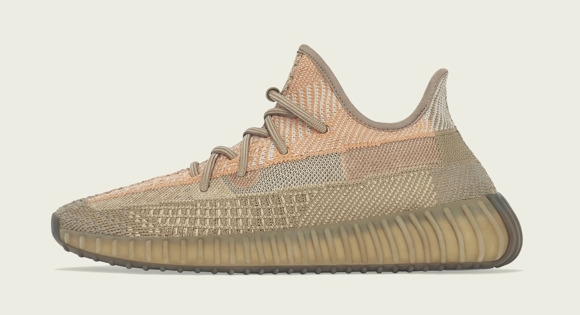Adidas Yeezy Boost 350 V2 'Sand Taupe' FZ5240 Lateral