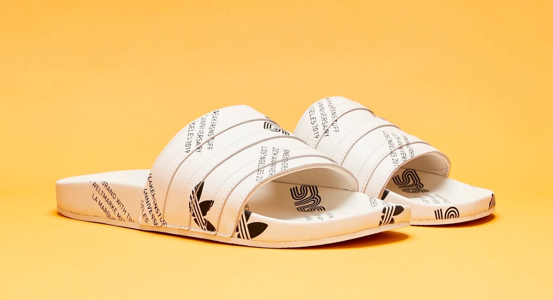Sneakersnstuff x Adidas Consortium Adilette (Pair)