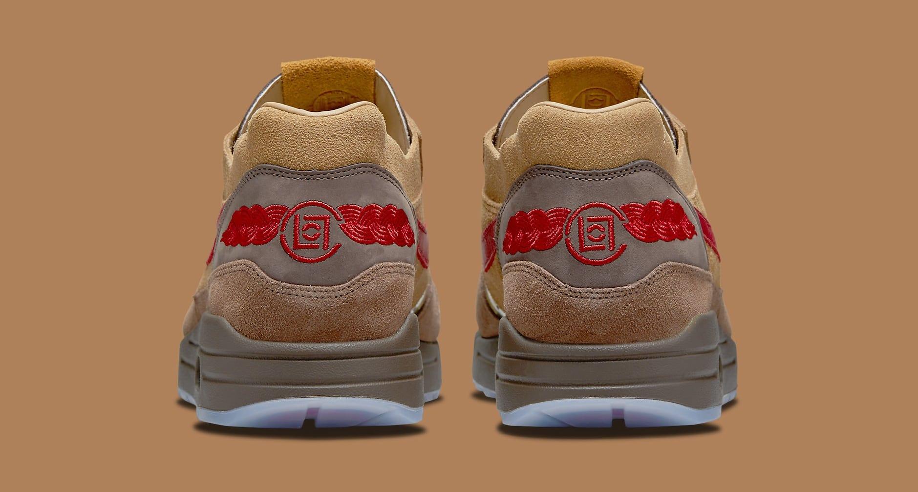 Clot x Nike Air Max 1 'K.O.D. - CHA' DD1870-200 Heel