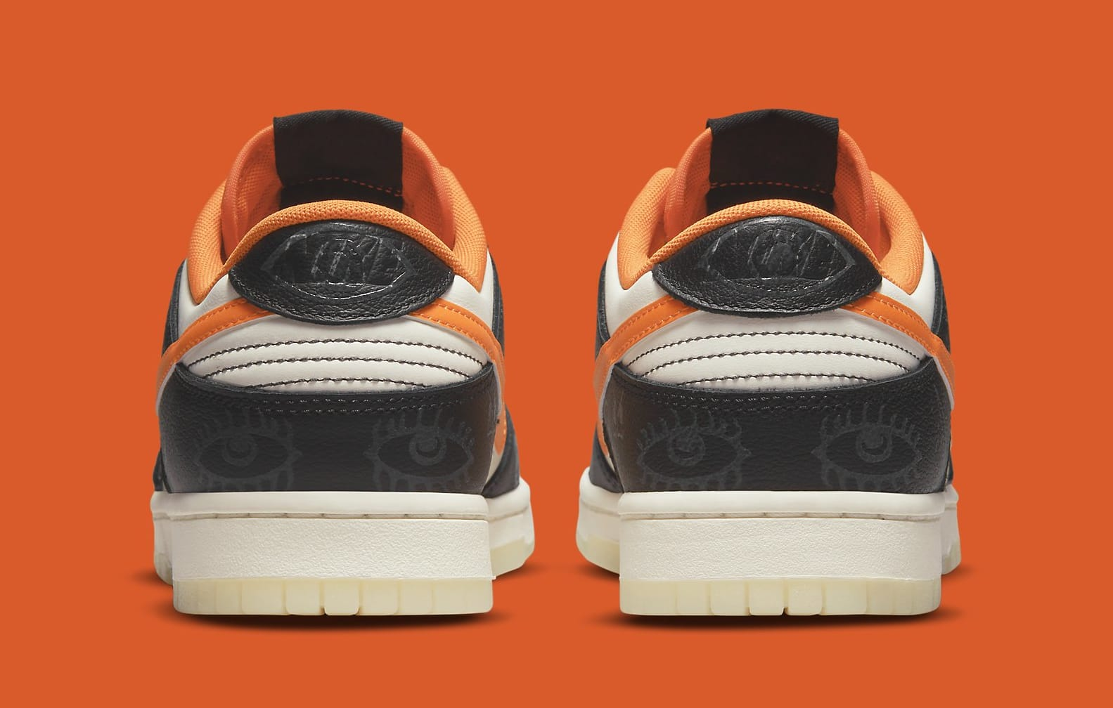 Nike Dunk Low 'Halloween' DD0357-100 Heel