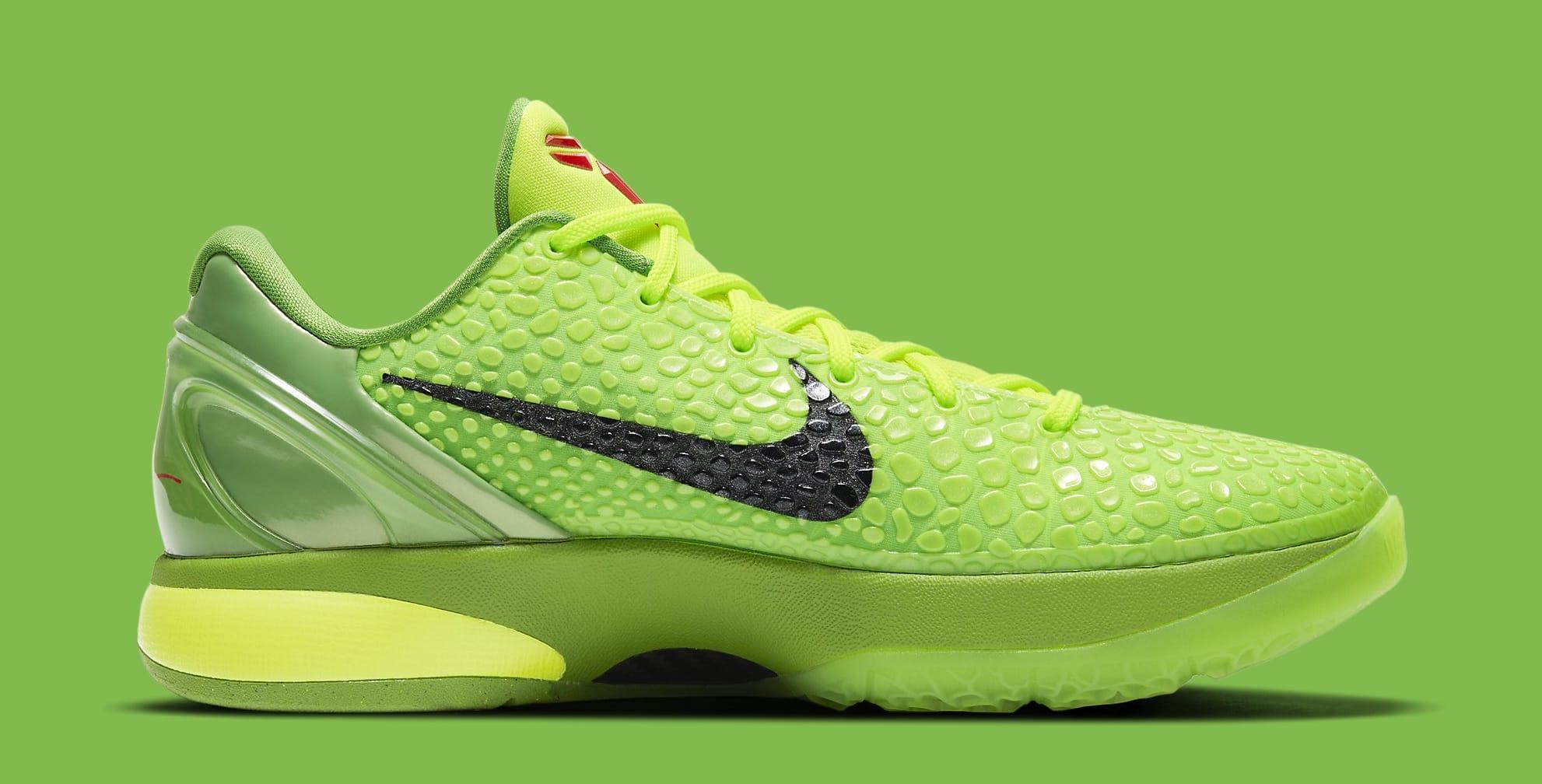 Nike Kobe 6 Protro 'Grinch' CW2190-300 Medial