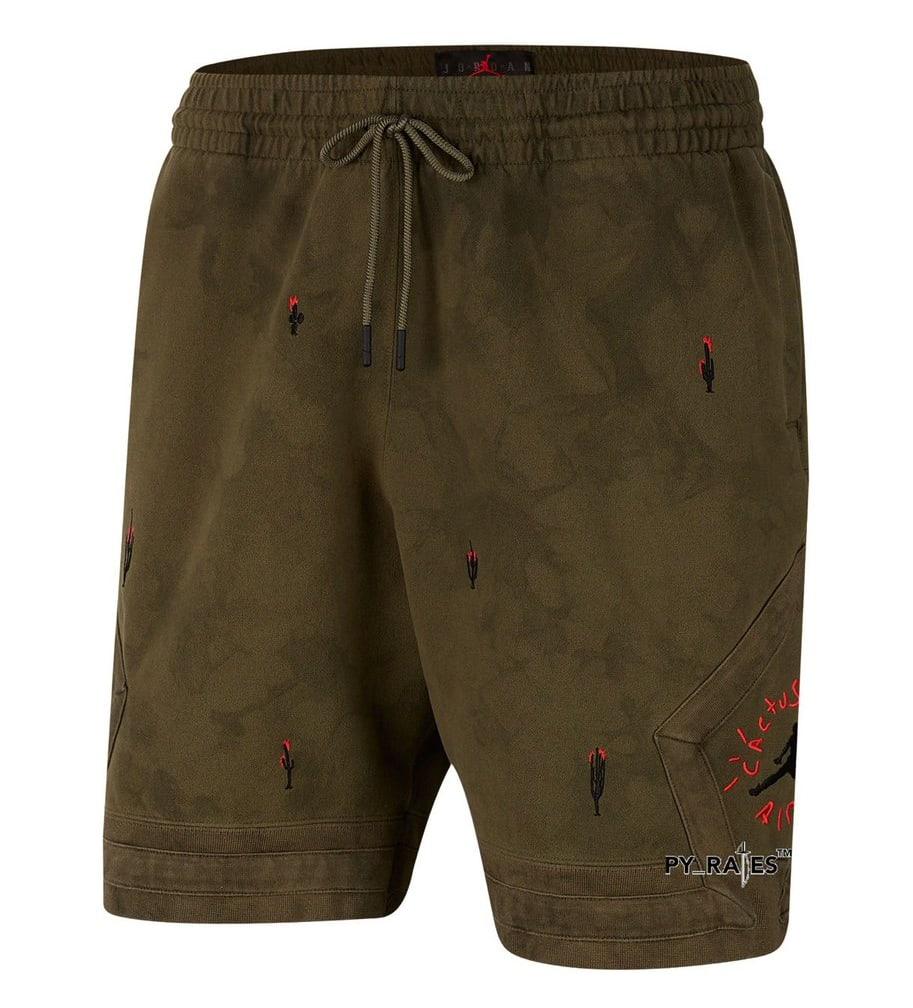 Travis Scott Merchandise Shorts Front