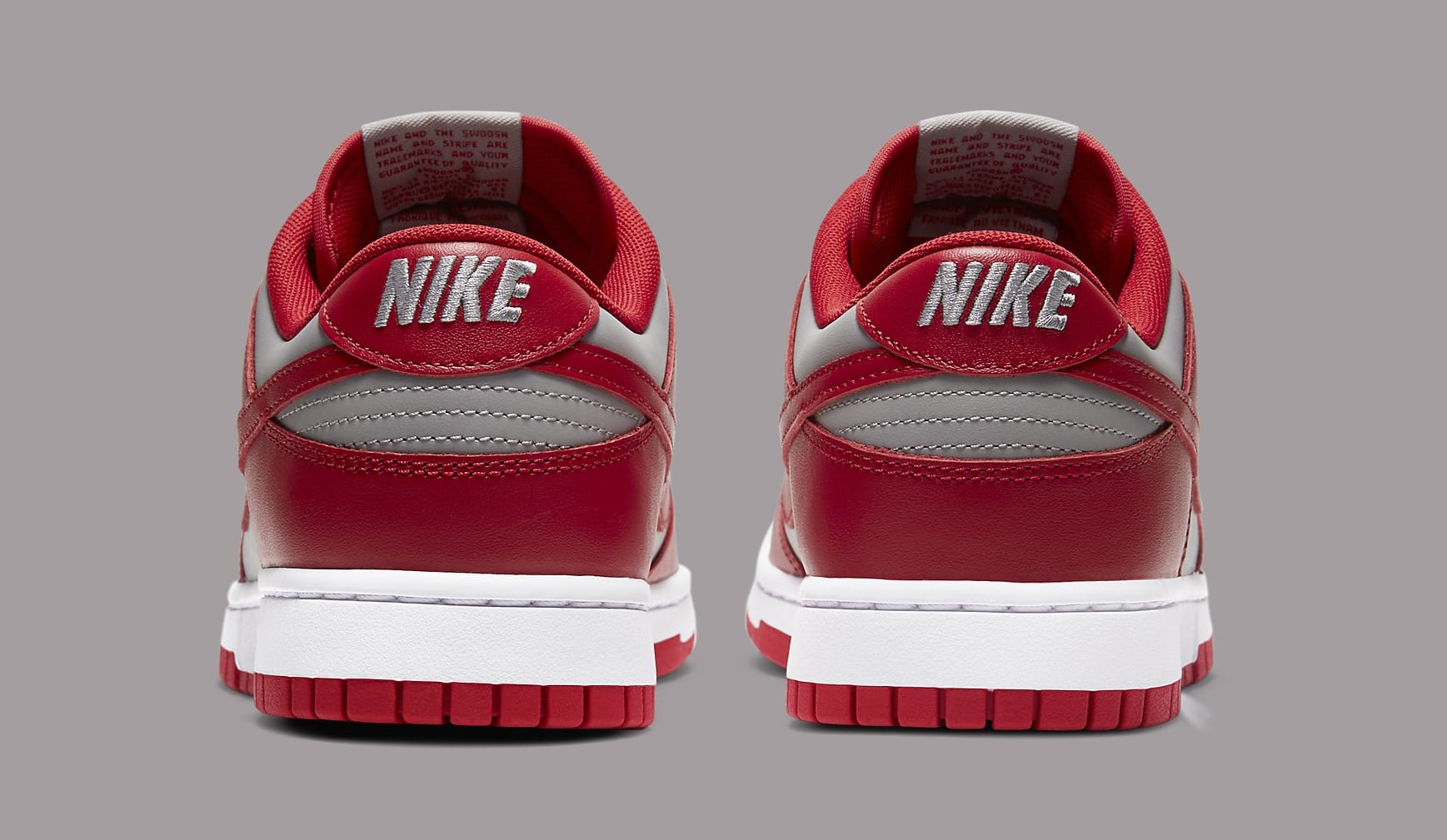 Nike Dunk Low 'UNLV' DD1391-002 Heel
