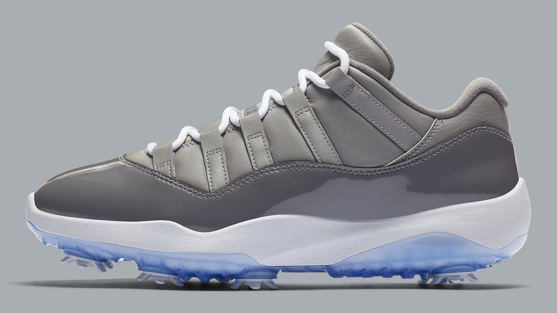 Air Jordan 11 Low Golf Cool Grey Release Date AQ0963-002 Profile