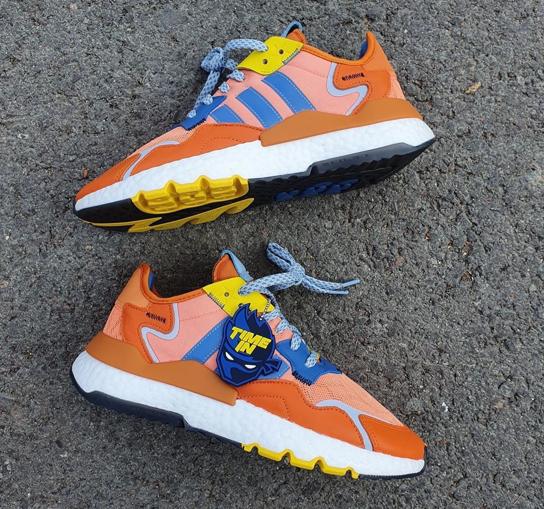 Ninja x Adidas Nite Jogger 'Orange' 047199 Side
