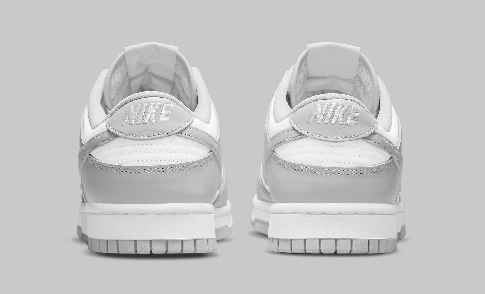 Nike Dunk Low 'Grey Fog' DD1391-103 Heel
