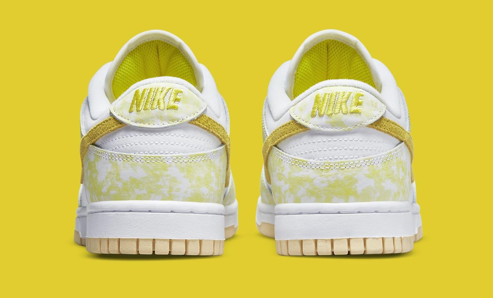Nike Dunk Low 'Yellow Strike' DM9467-700 Heel