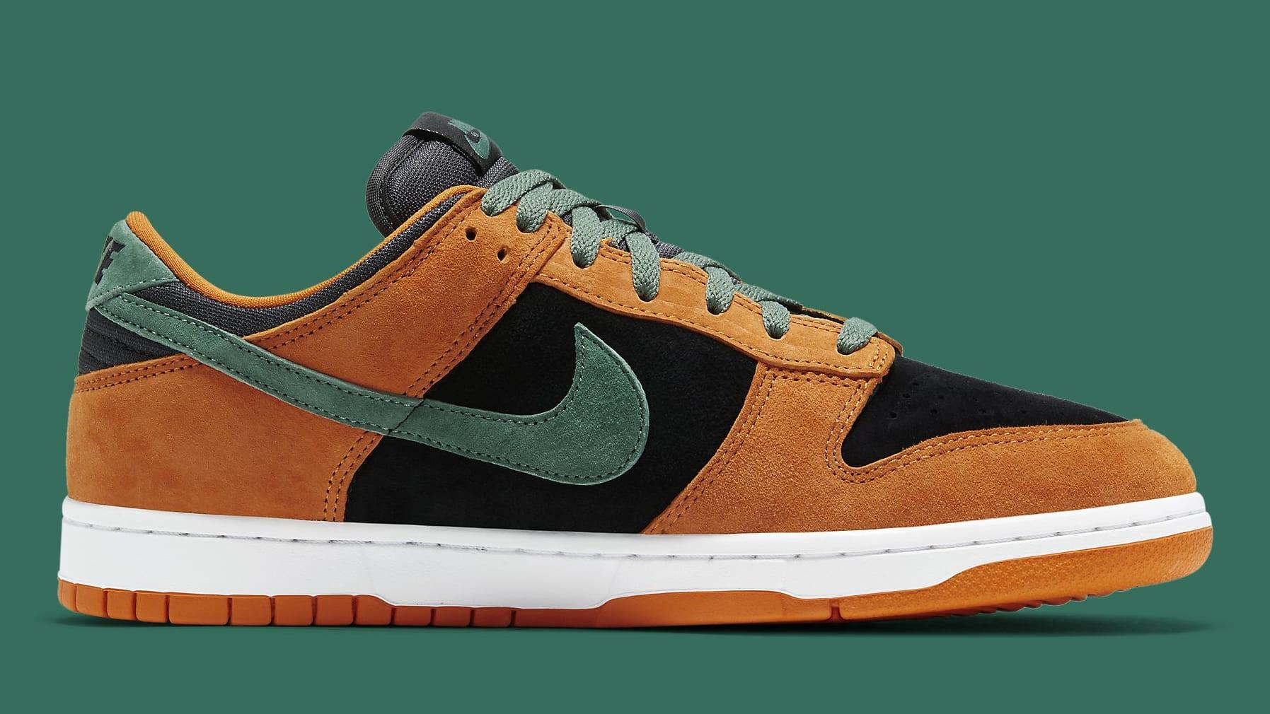 Nike Dunk Low Ceramic Release Date DA1469-001 Medial