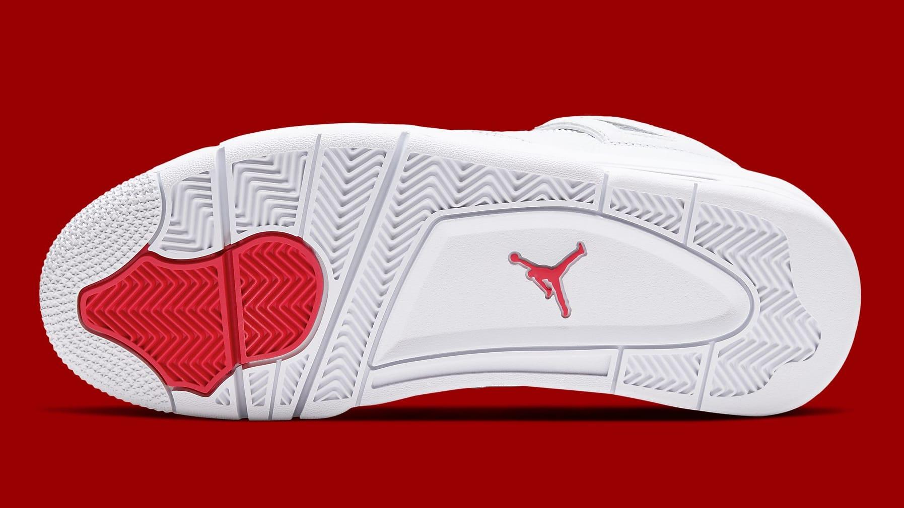 Air Jordan 4 Metallic Red Release Date CT8527-112 Sole