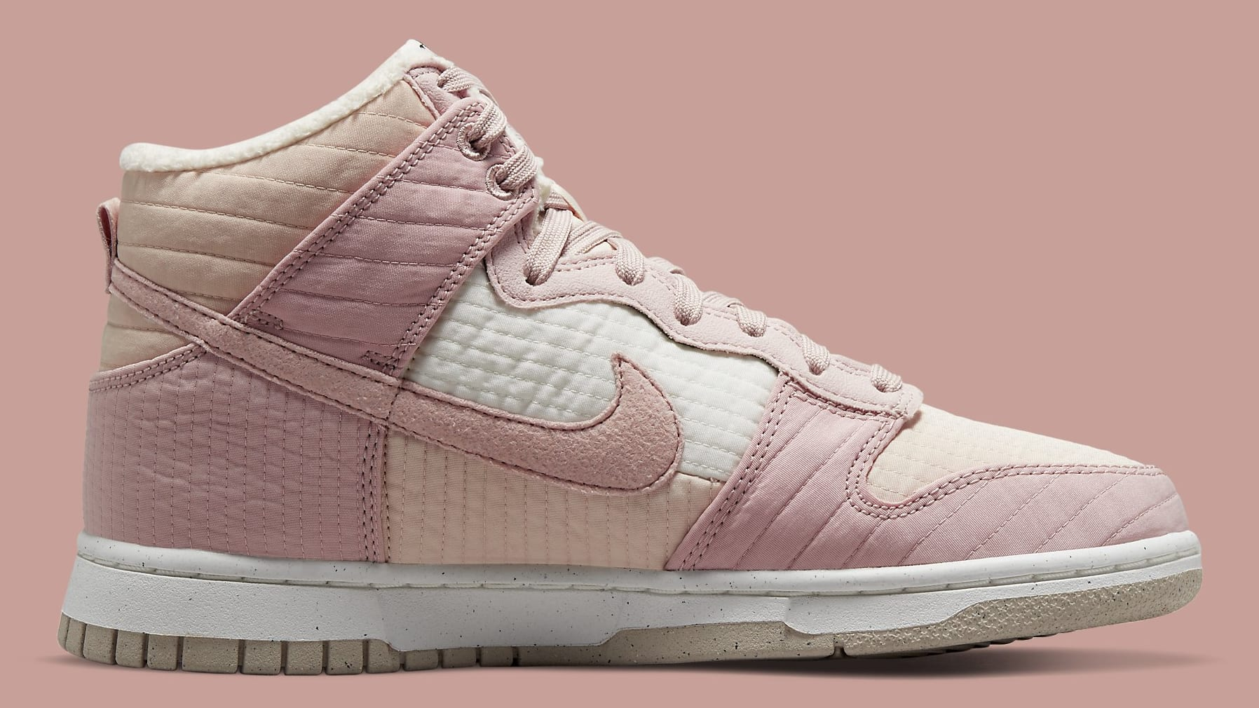 Nike Dunk High Toasty Pink DN9909-200 Release Date Medial