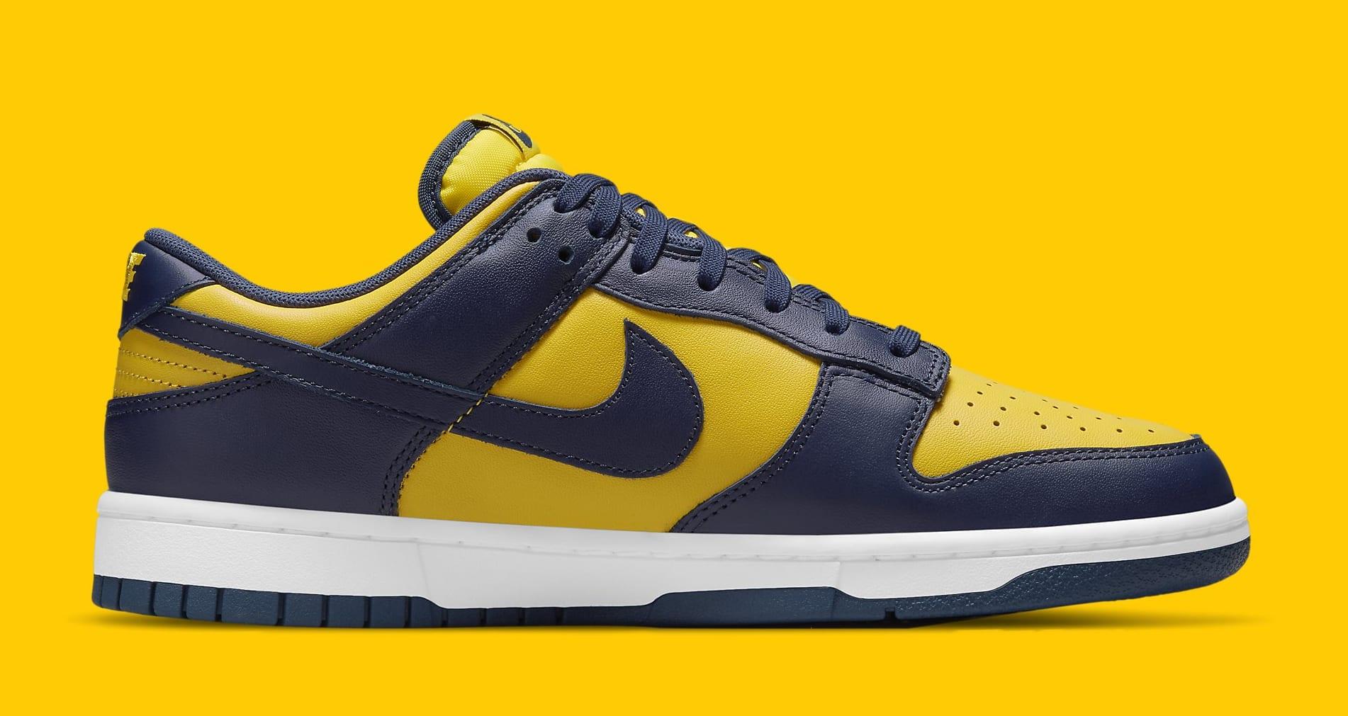 Nike Dunk Low 'Michigan' 2021 DD1391-700 Medial