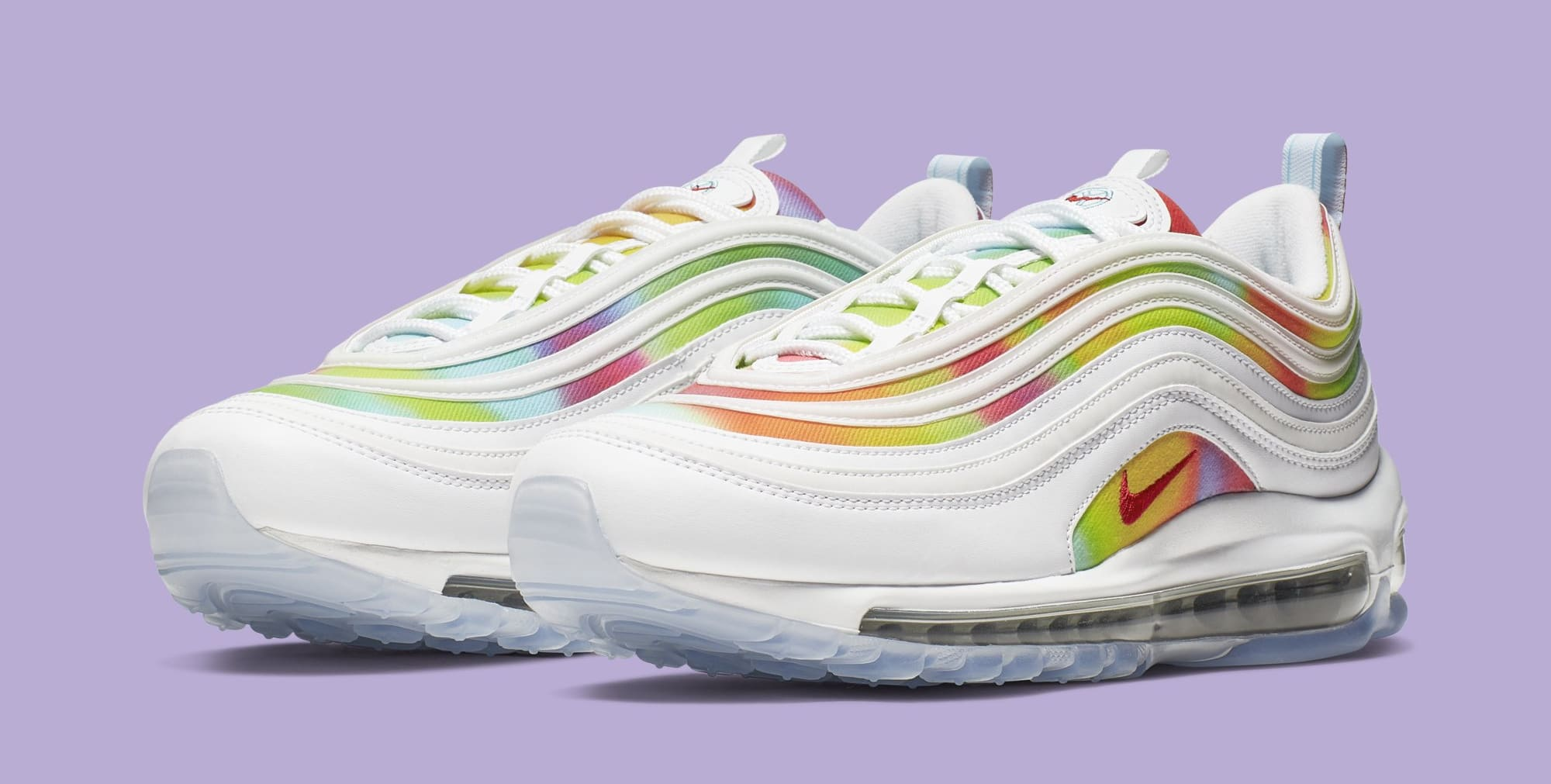 Nike Air Max 97 'Tie-Dye/Chicago' CK0839-100 (Pair)