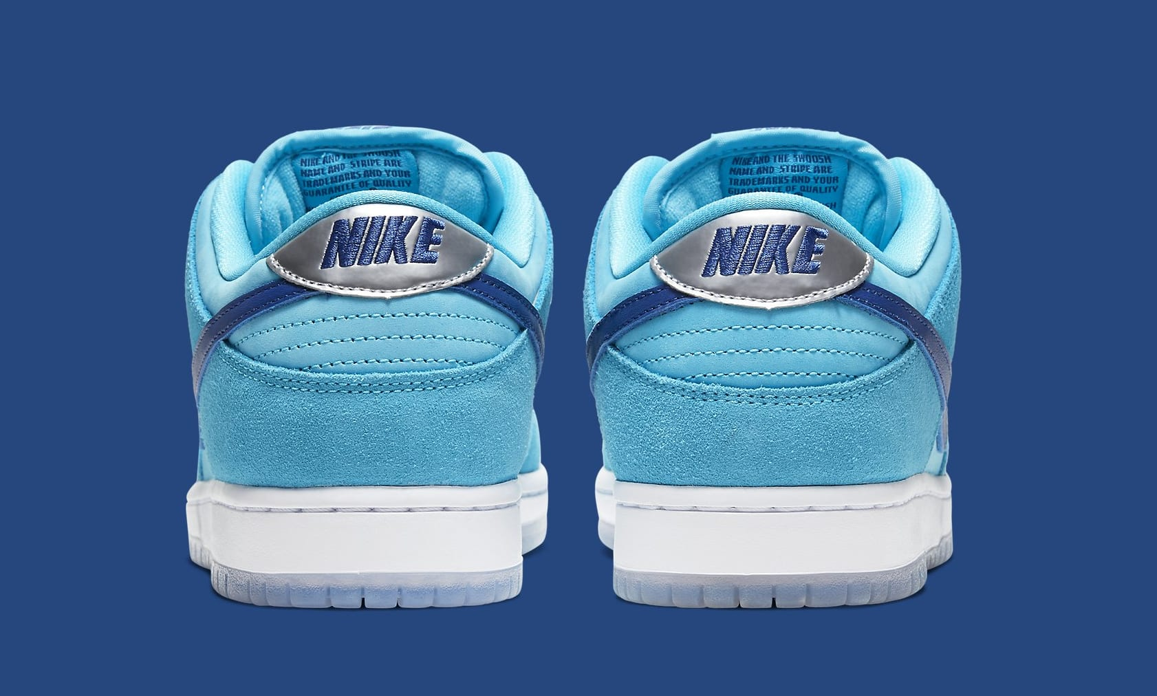 Nike SB Dunk Low 'Blue Fury' BQ6817-400 Heel