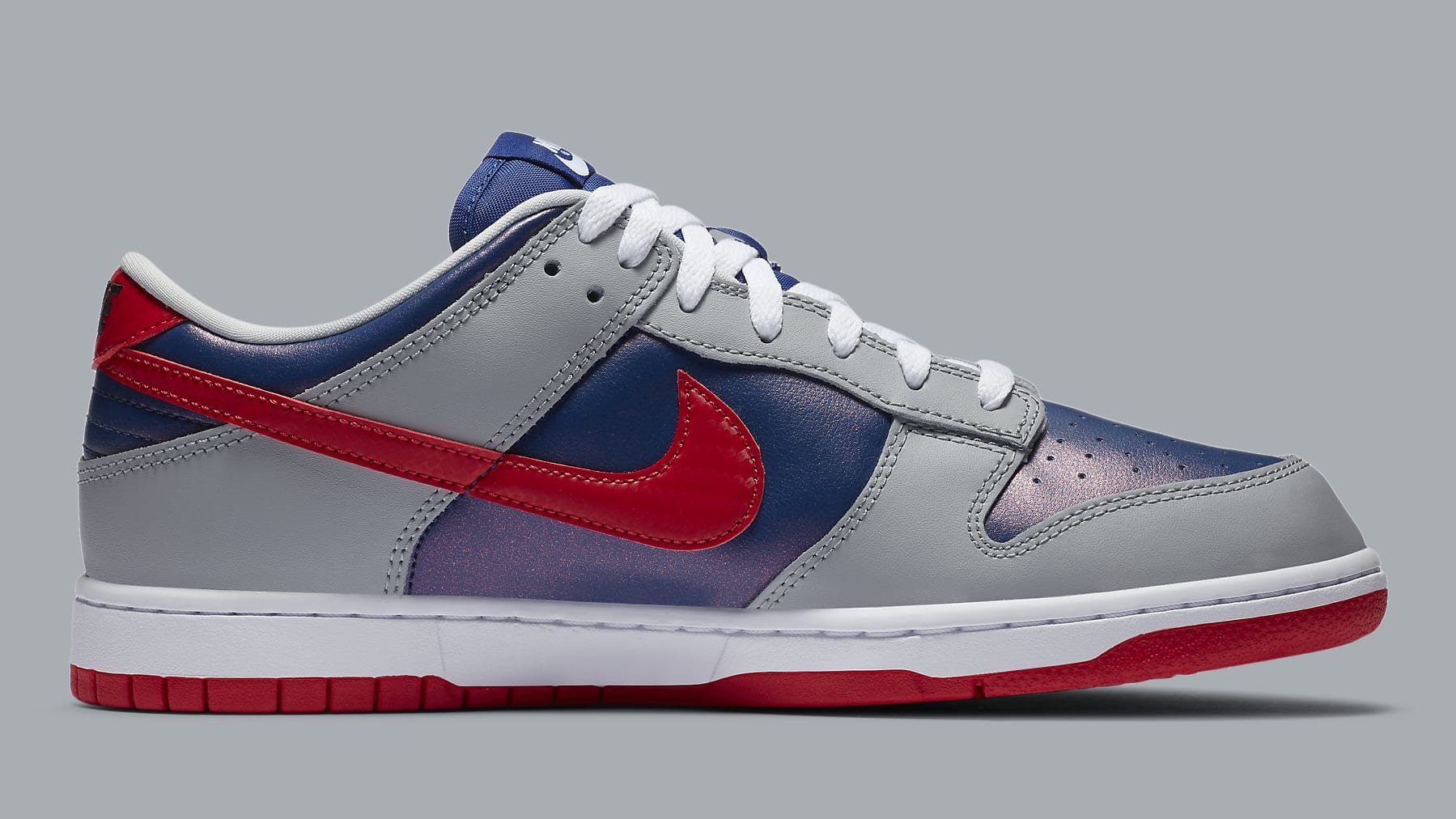Nike Dunk Low Samba Release Date CZ2667-400 Medial