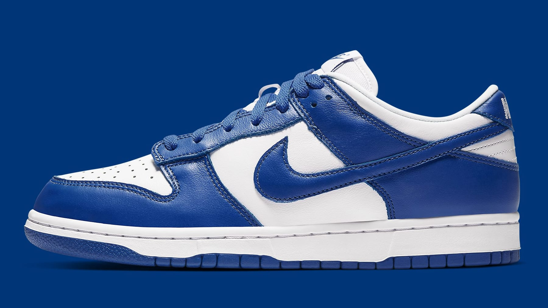 Nike Dunk Low Kentucky Release Date CU1726-100 Profile