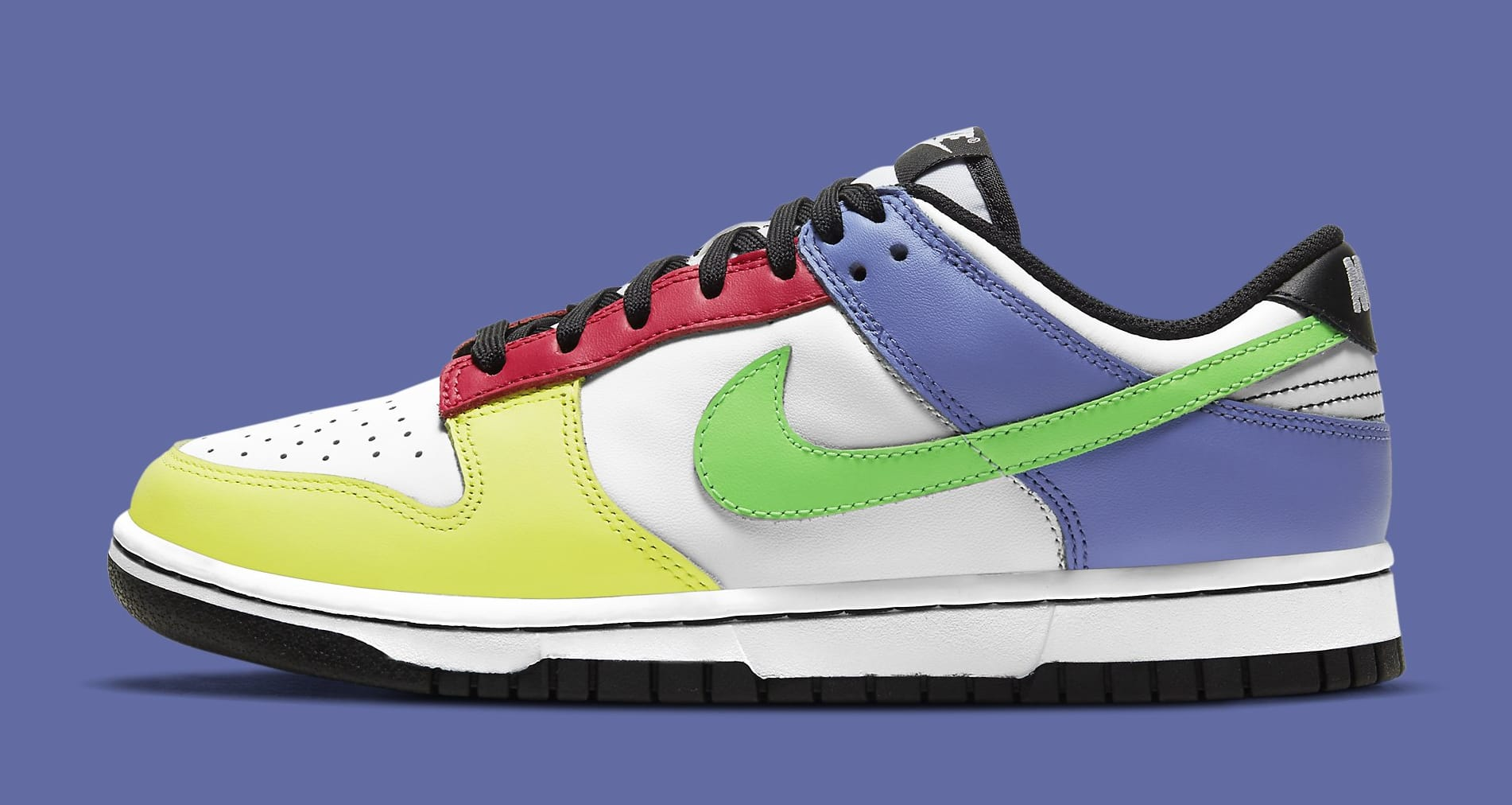 Nike Dunk Low Women's 'Green Strike' DD1503-106 Lateral