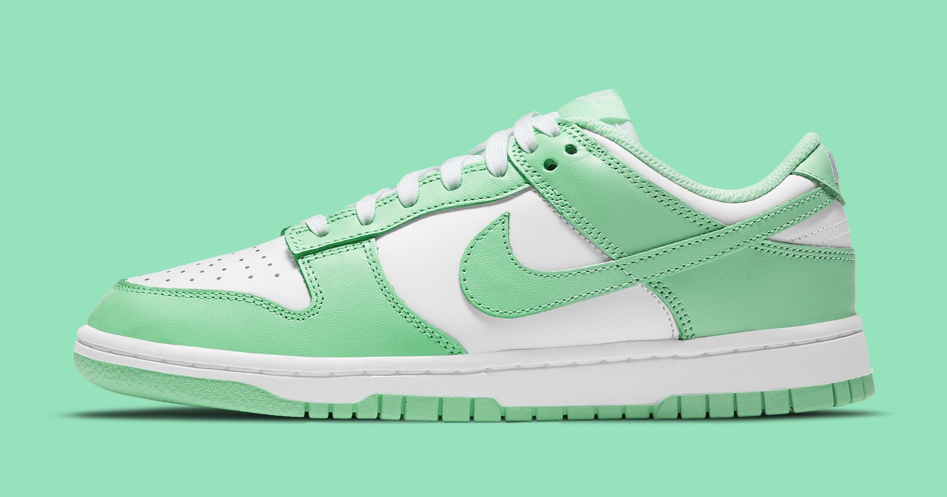 Nike Dunk Low Women's 'Green Glow' DD1503-105 Lateral