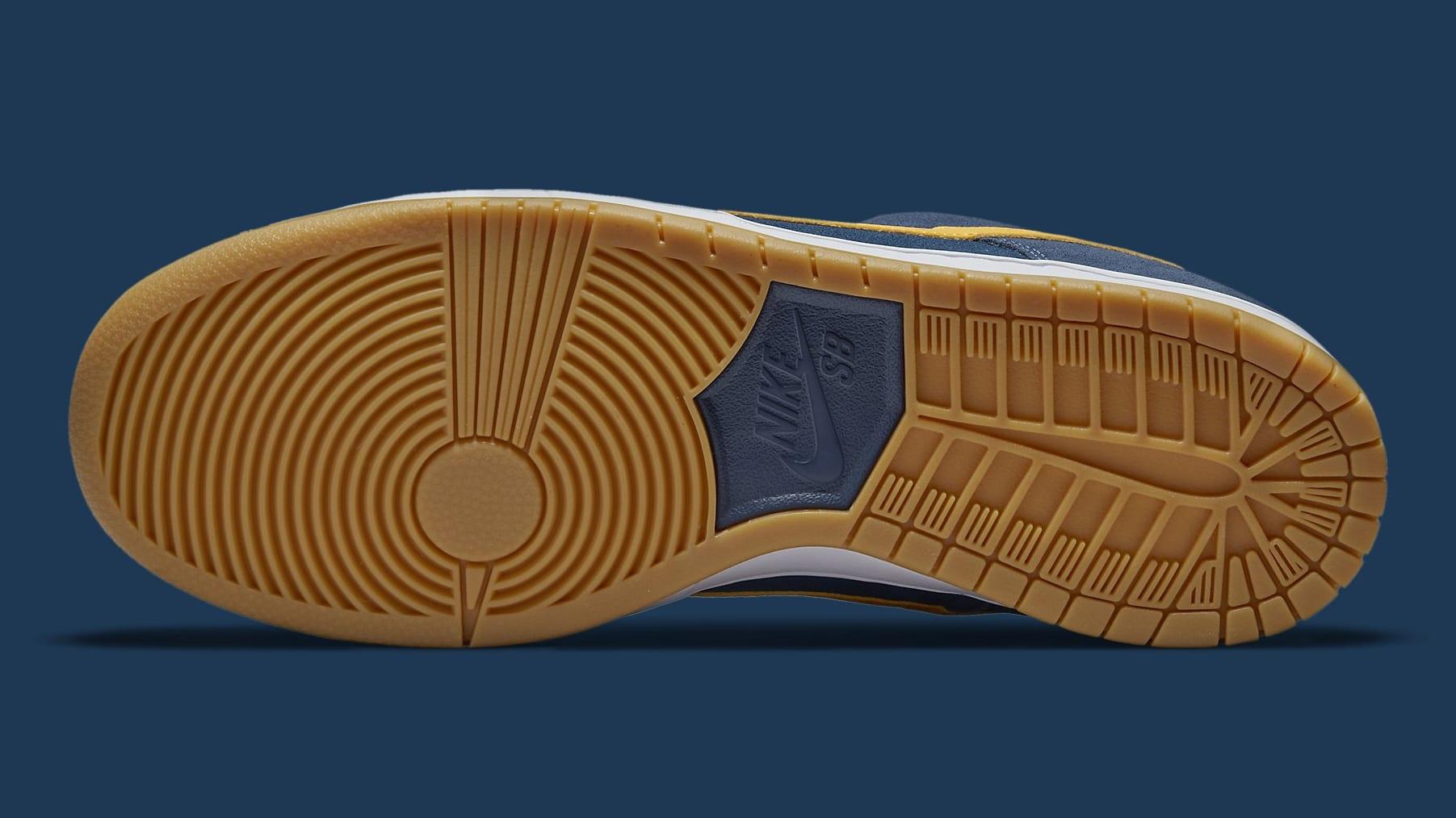 Nike SB Dunk Low Barcelona Release Date DJ0606-400 Sole