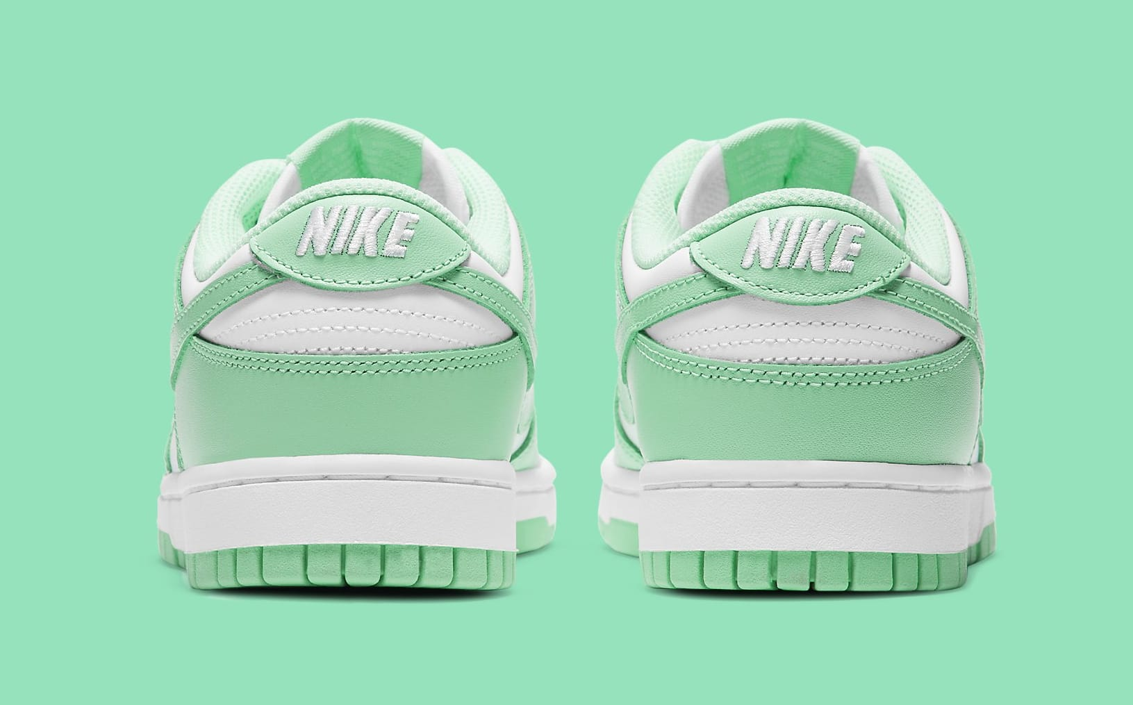 Nike Dunk Low Women's 'Green Glow' DD1503-105 Heel