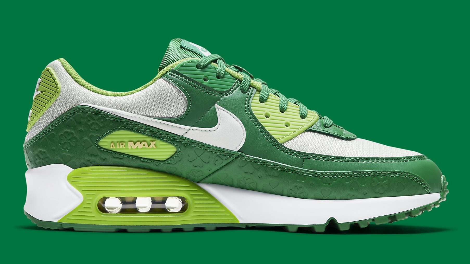 Nike Air Max 90 St. Patrick's Day Release Date DD8555-300 Medial
