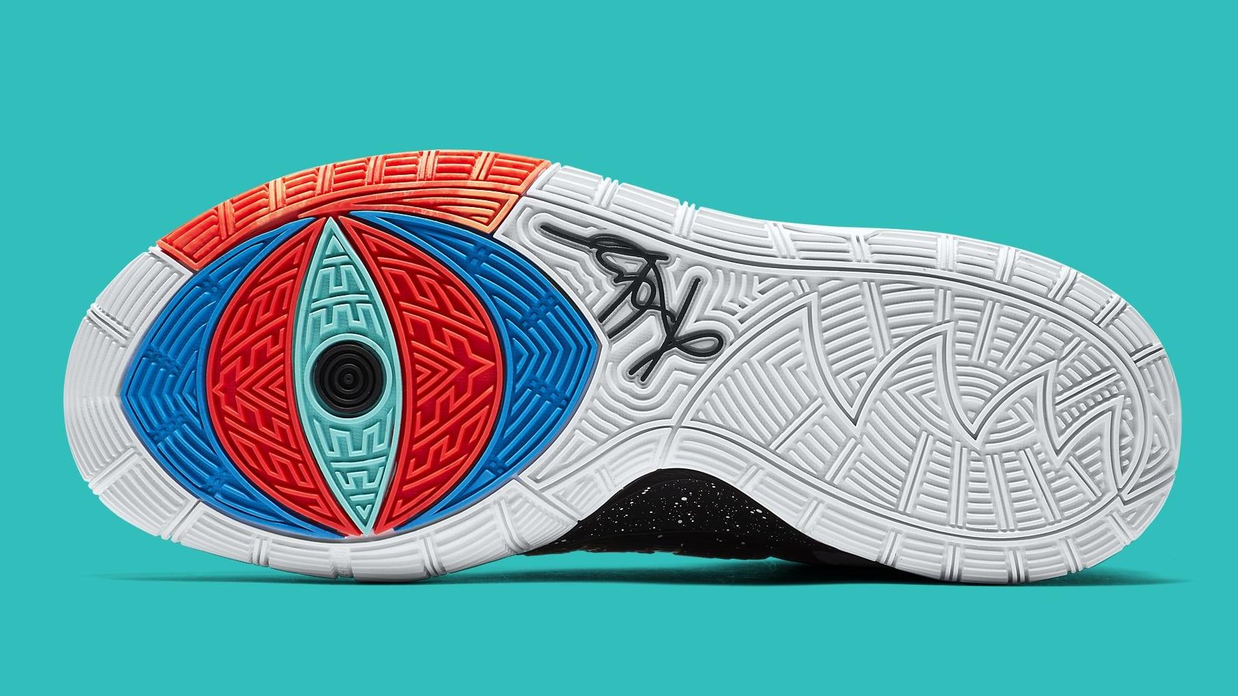 Nike Kyrie 6 Black White Release Date BQ4630-001 Sole
