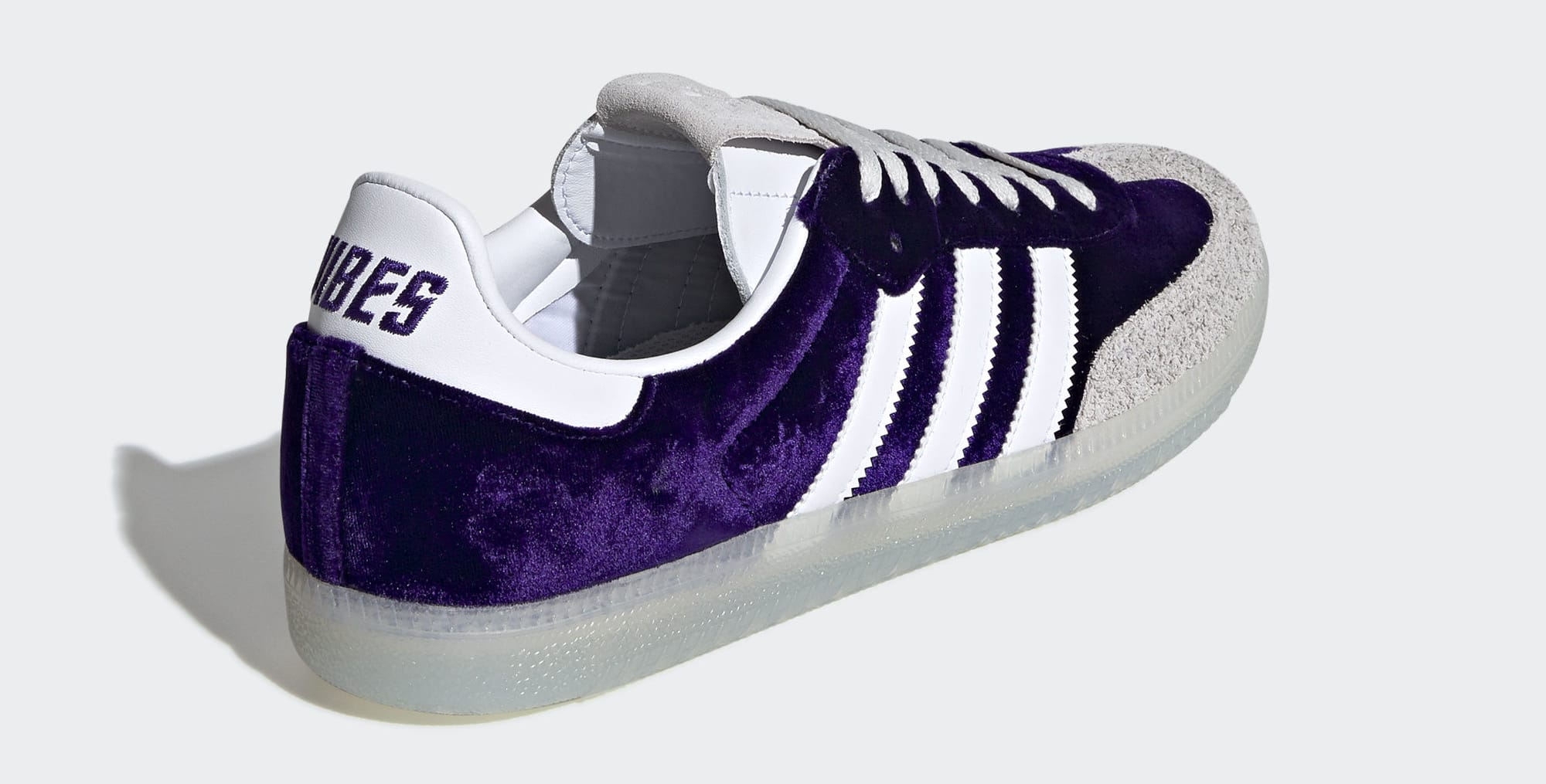 Adidas Samba 'Purple Haze' DB3011 (Heel)