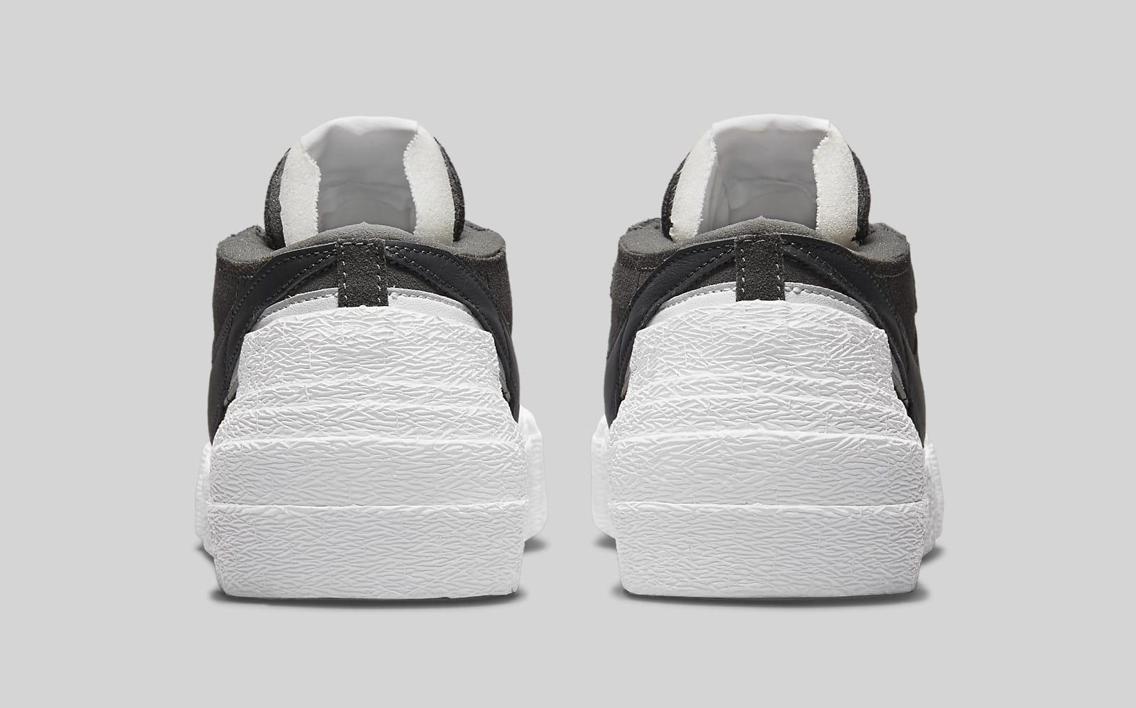 Sacai x Nike Blazer Low 'Iron Grey' DD1877-002 Heel