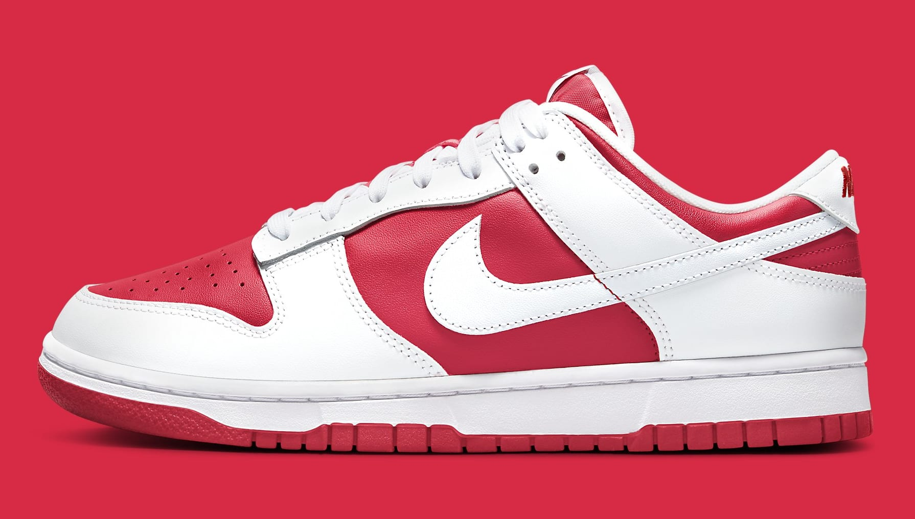 Nike Dunk Low Championship Red DD1391-600 Release Date Profile