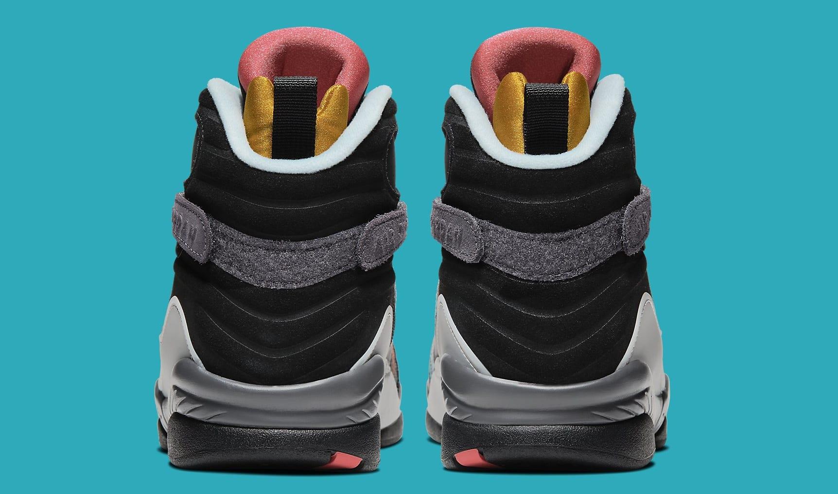 Air Jordan 8 N7 Release Date CQ9601-001 Heel