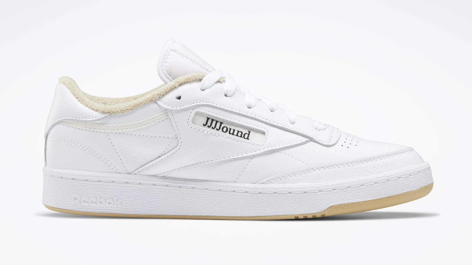 JJJJound x Reebok Club C 'Beige' FY6066 Lateral
