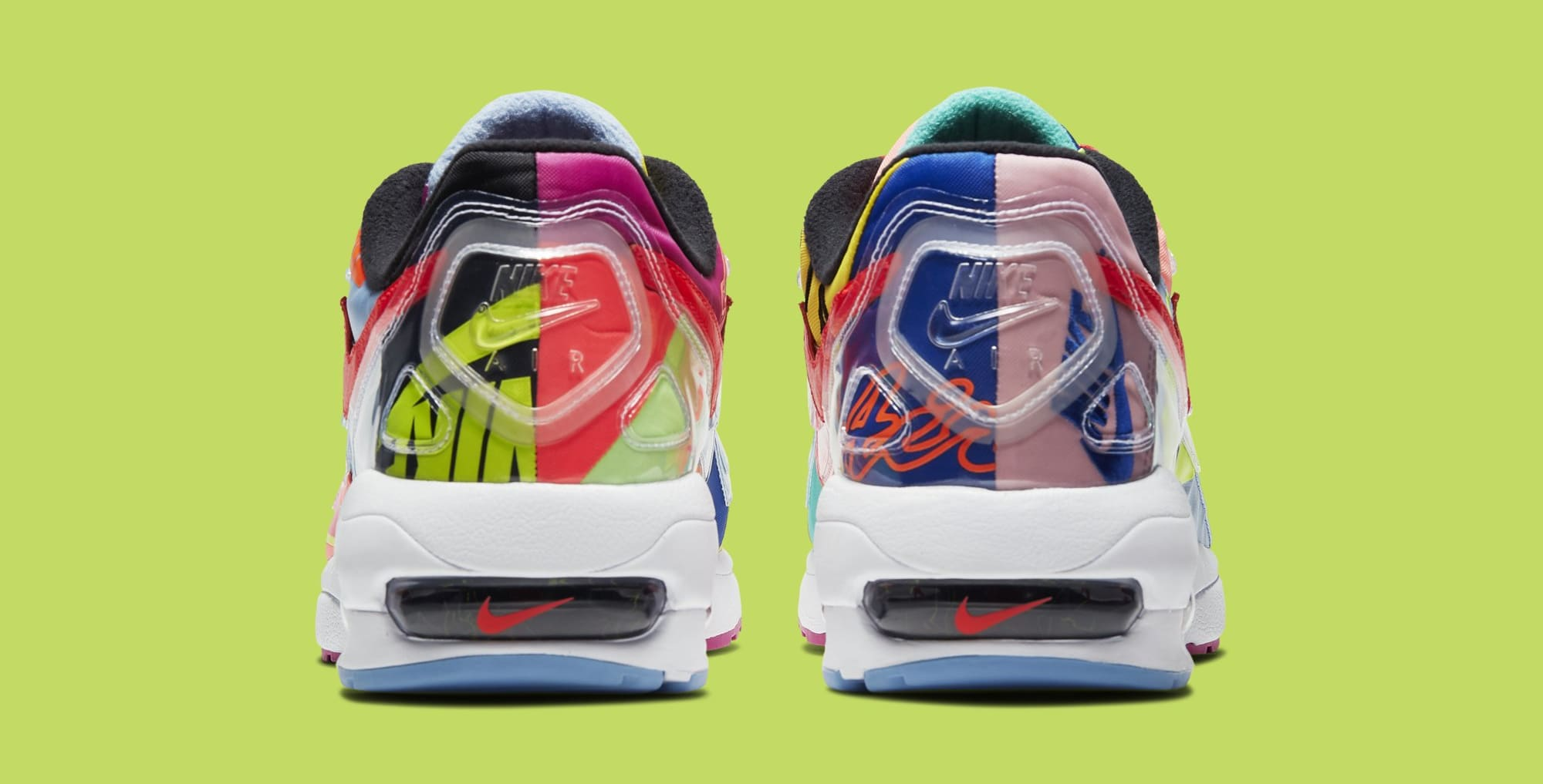 Atmos x Nike Air Max2 Light BV7406-001 (Heel)
