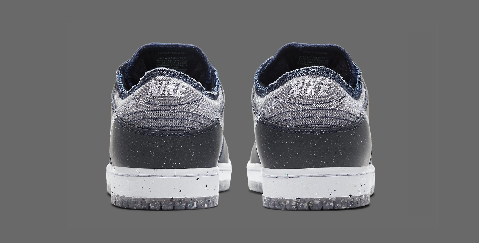 Nike SB Dunk Low 'Crater' CT2224-001 Heel