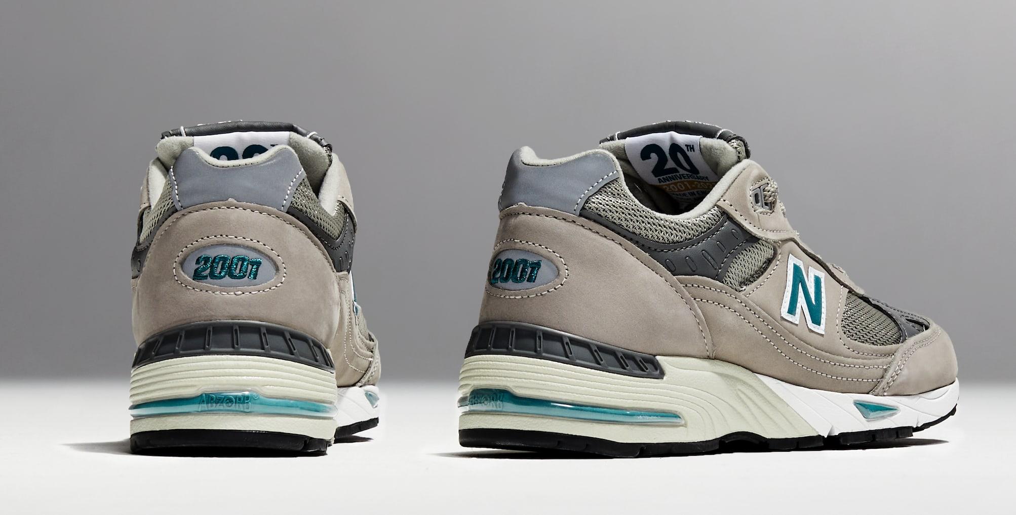 New Balance 991 '20th Anniversary' Heel