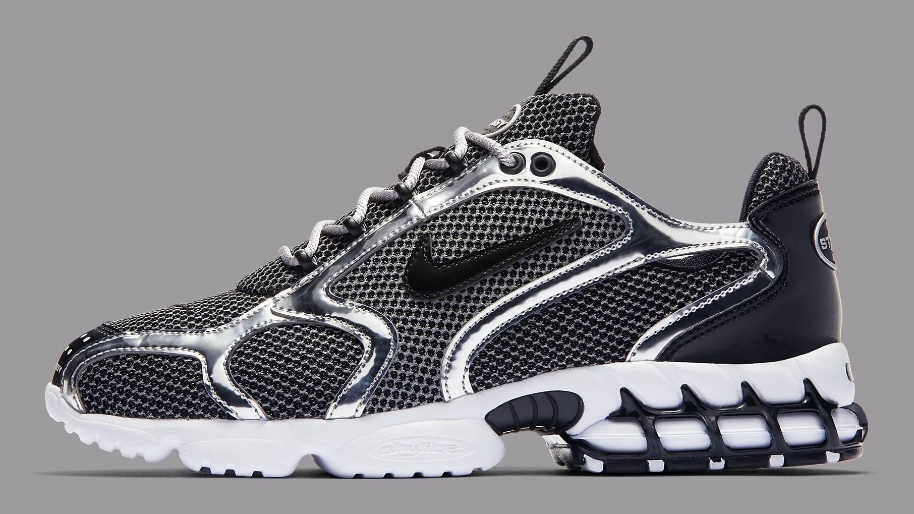 Stussy x Nike Air Zoom Spiridon CG 2 Release Date Confirmed: Photos