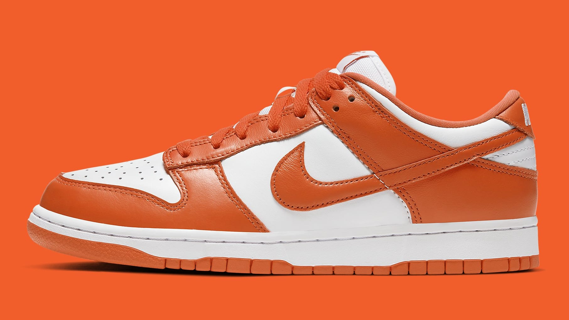 Nike Dunk Low Syracuse Release Date CU1726-101 Profile