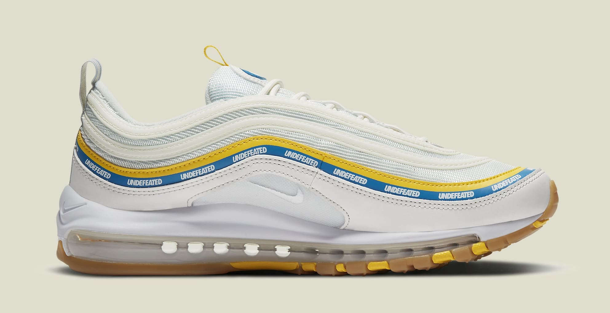 Undefeated x Nike Air Max 97 'Sail' DC4830-100 Medial