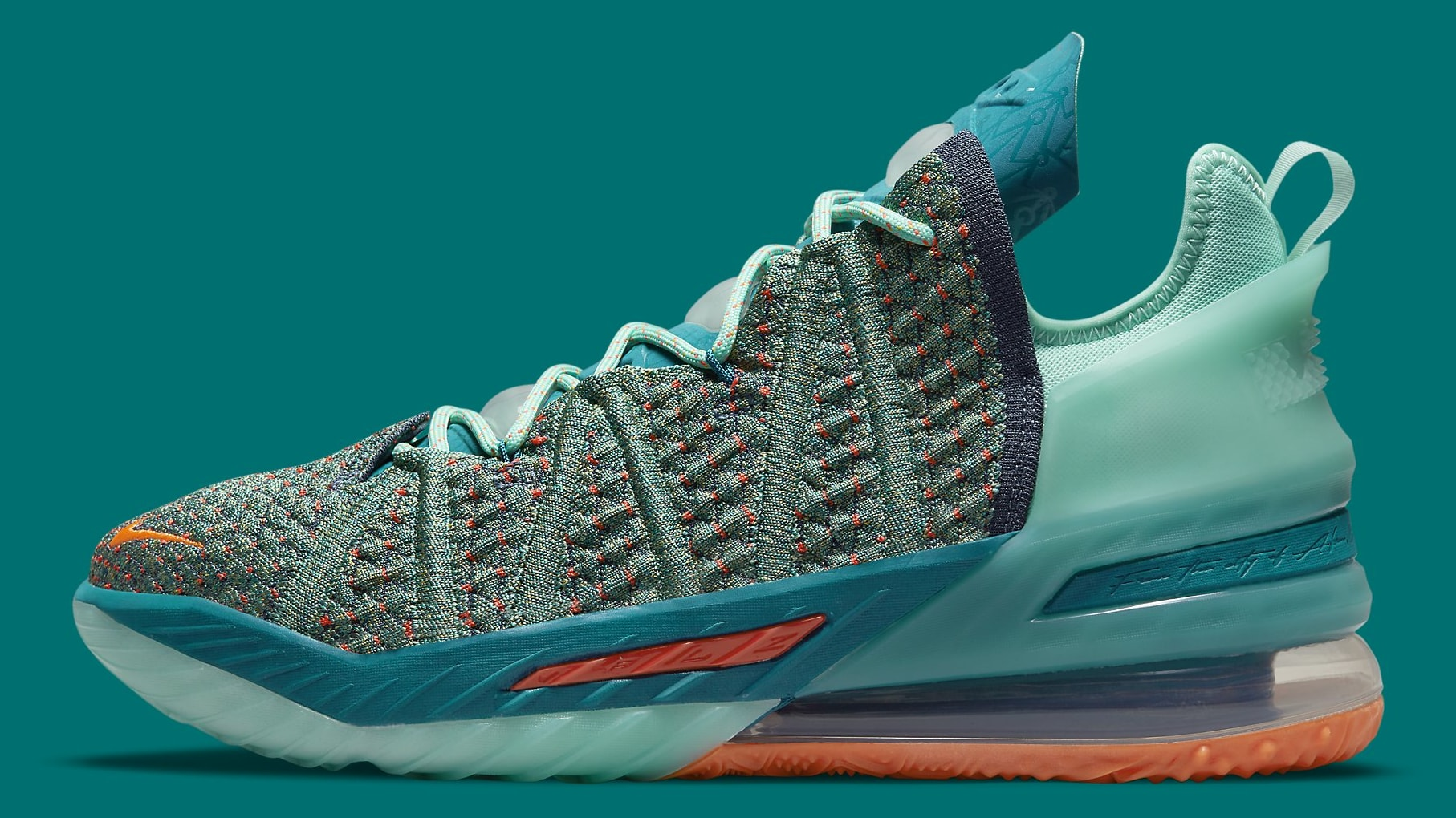 Nike LeBron 18 We Are Family Release Date CQ9283-300 Profile