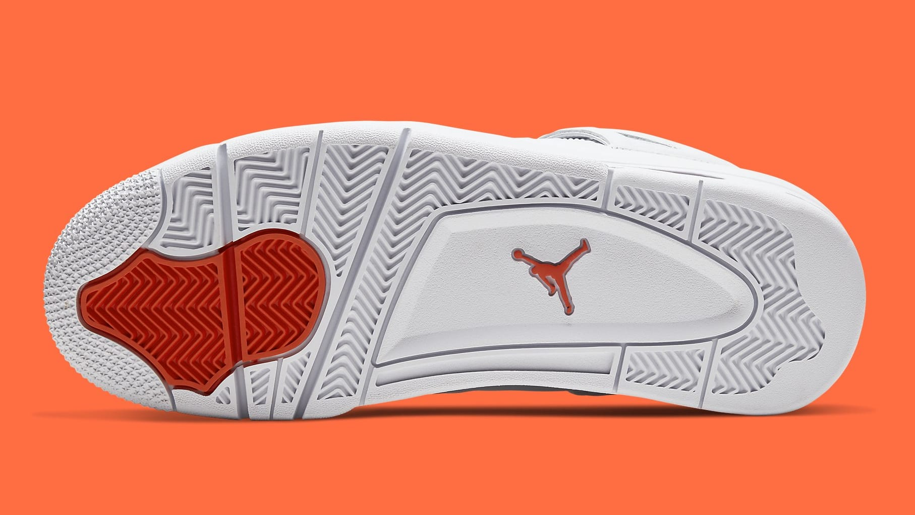 Air Jordan 4 Metallic Orange Release Date CT8527-118 Sole