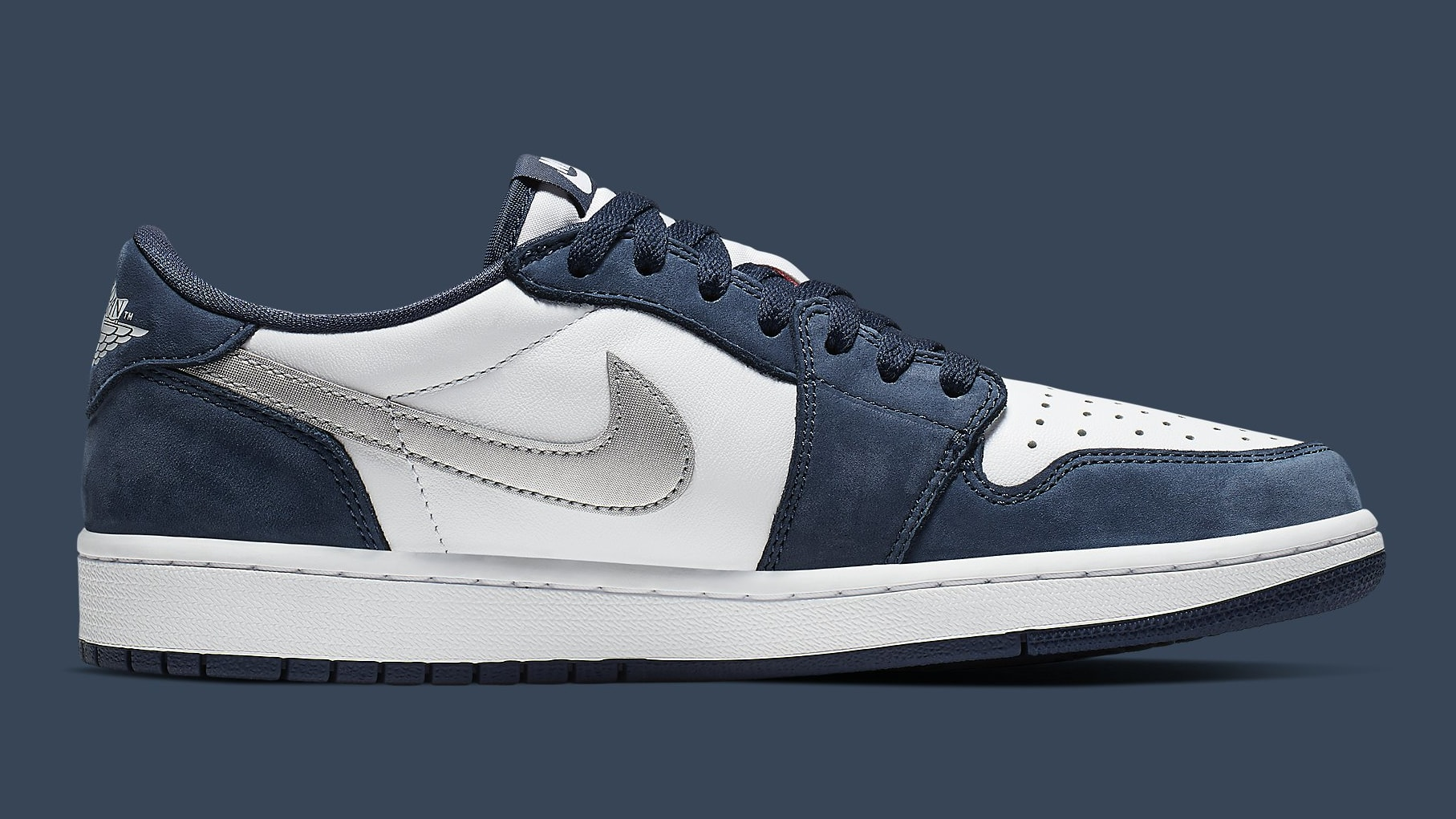 Nike SB Air Jordan 1 Low Koston Release Date CJ7891-400 Medial