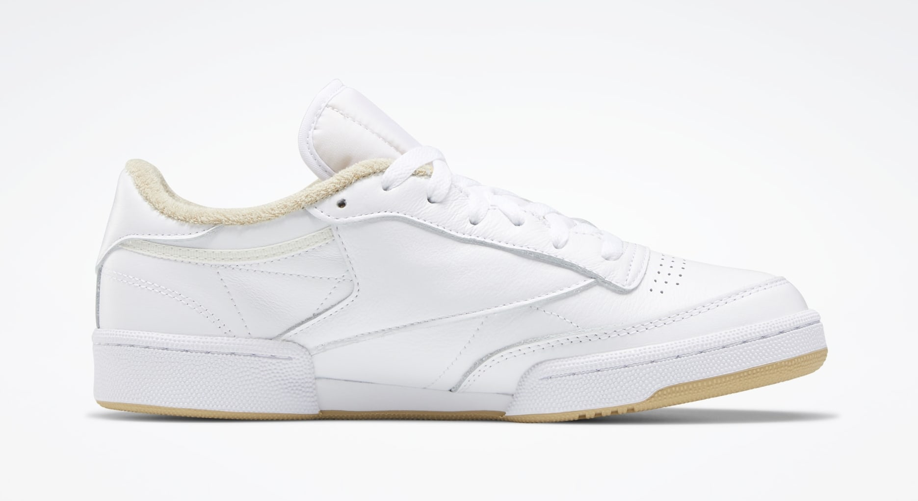 JJJJound x Reebok Club C 'Beige' FY6066 Medial
