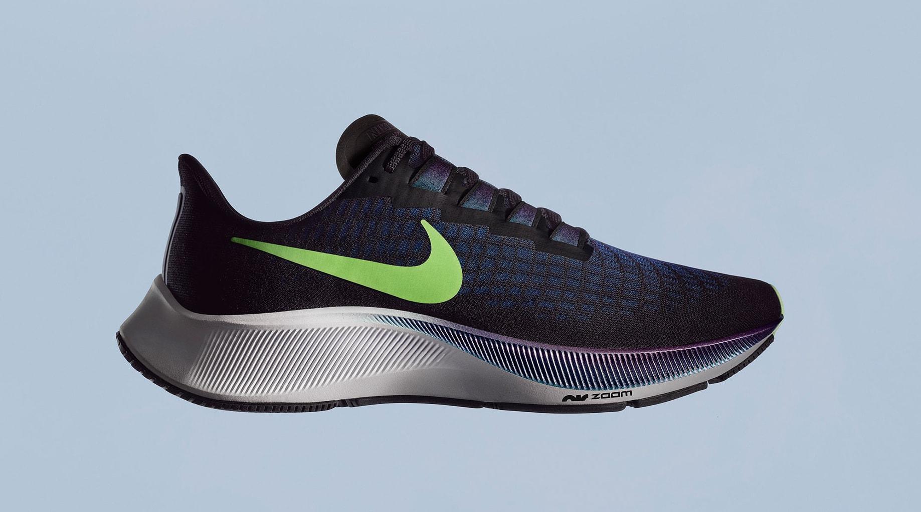 Nike Air Zoom Pegasus 37 Black Lateral