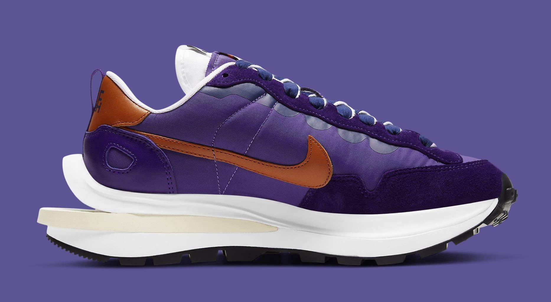 Sacai x Nike VaporWaffle 'Dark Iris' DD1875-500 Medial