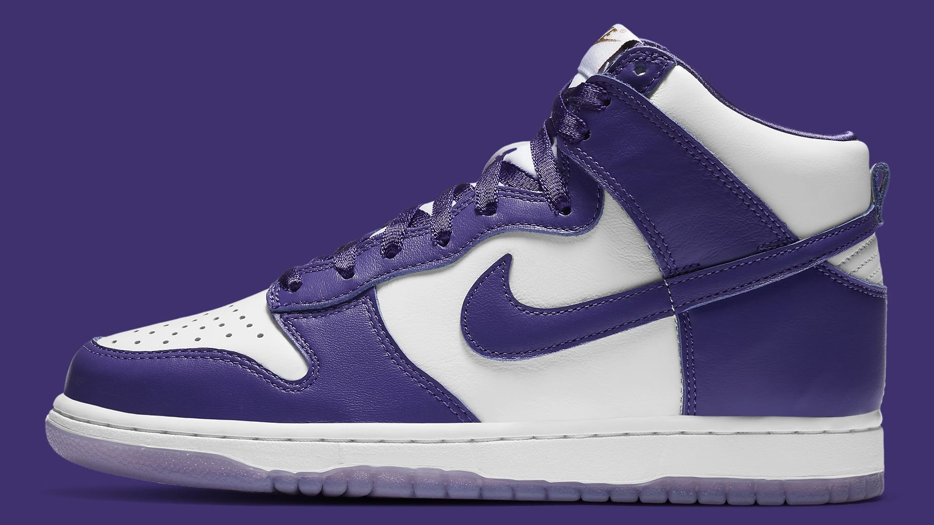 Nike Dunk High Women's Varsity Purple Release Date DC5382-100 Profile
