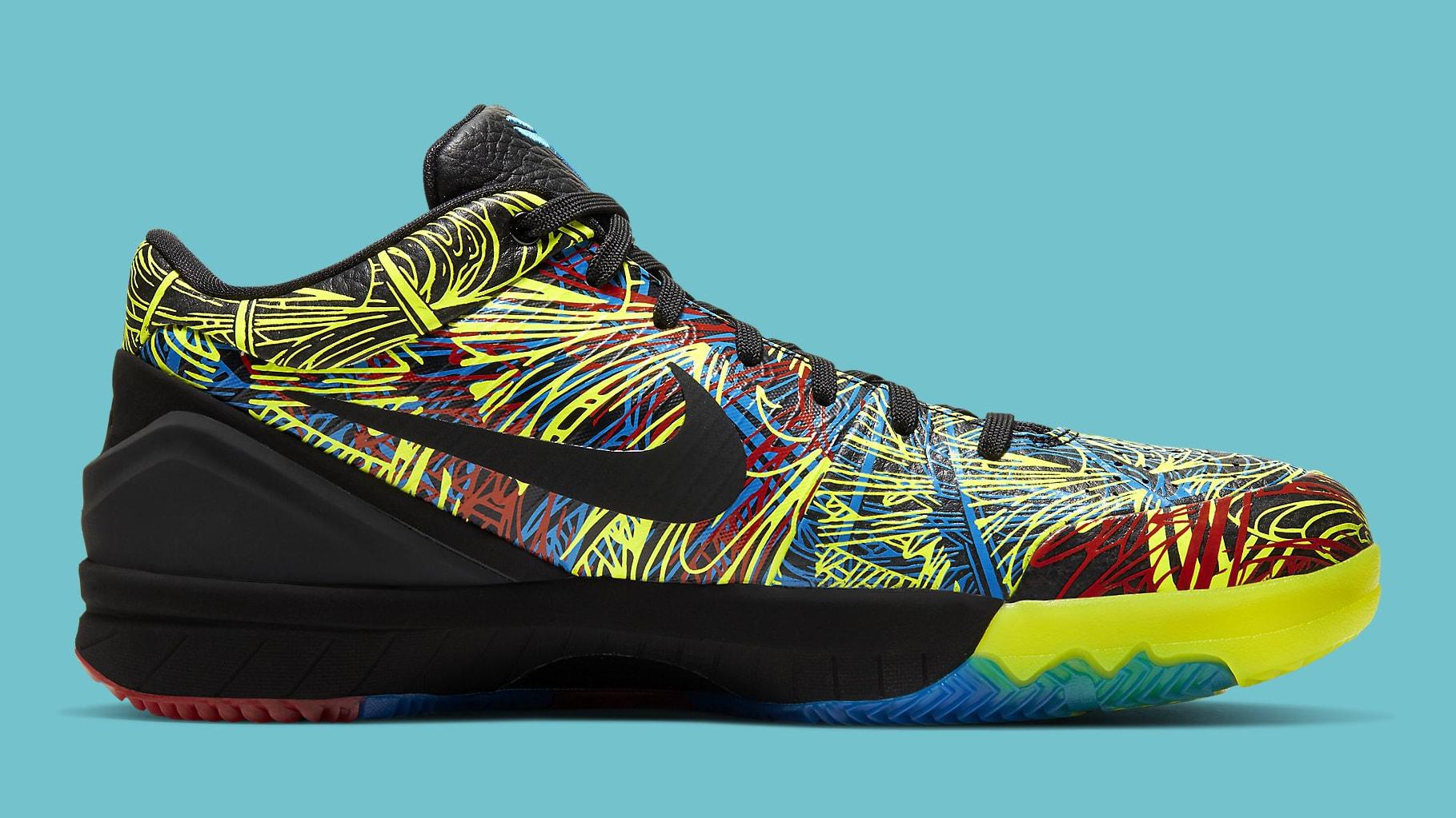 Nike Kobe 4 Wizenard Release Date CV3469-001 Medial