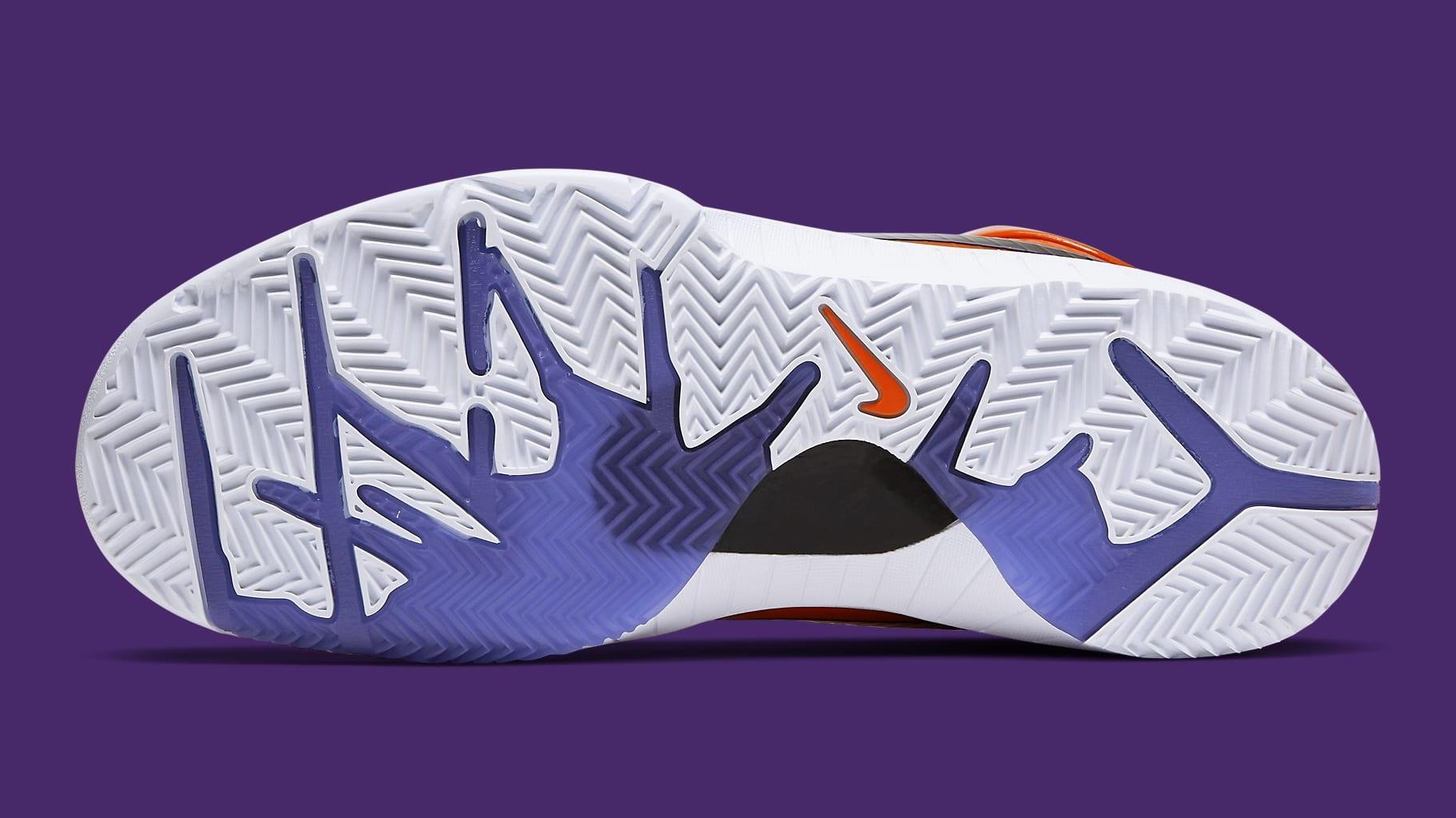 UNDFTD x Nike Kobe 4 Protro Orange Release Date CQ33869-800 Sole
