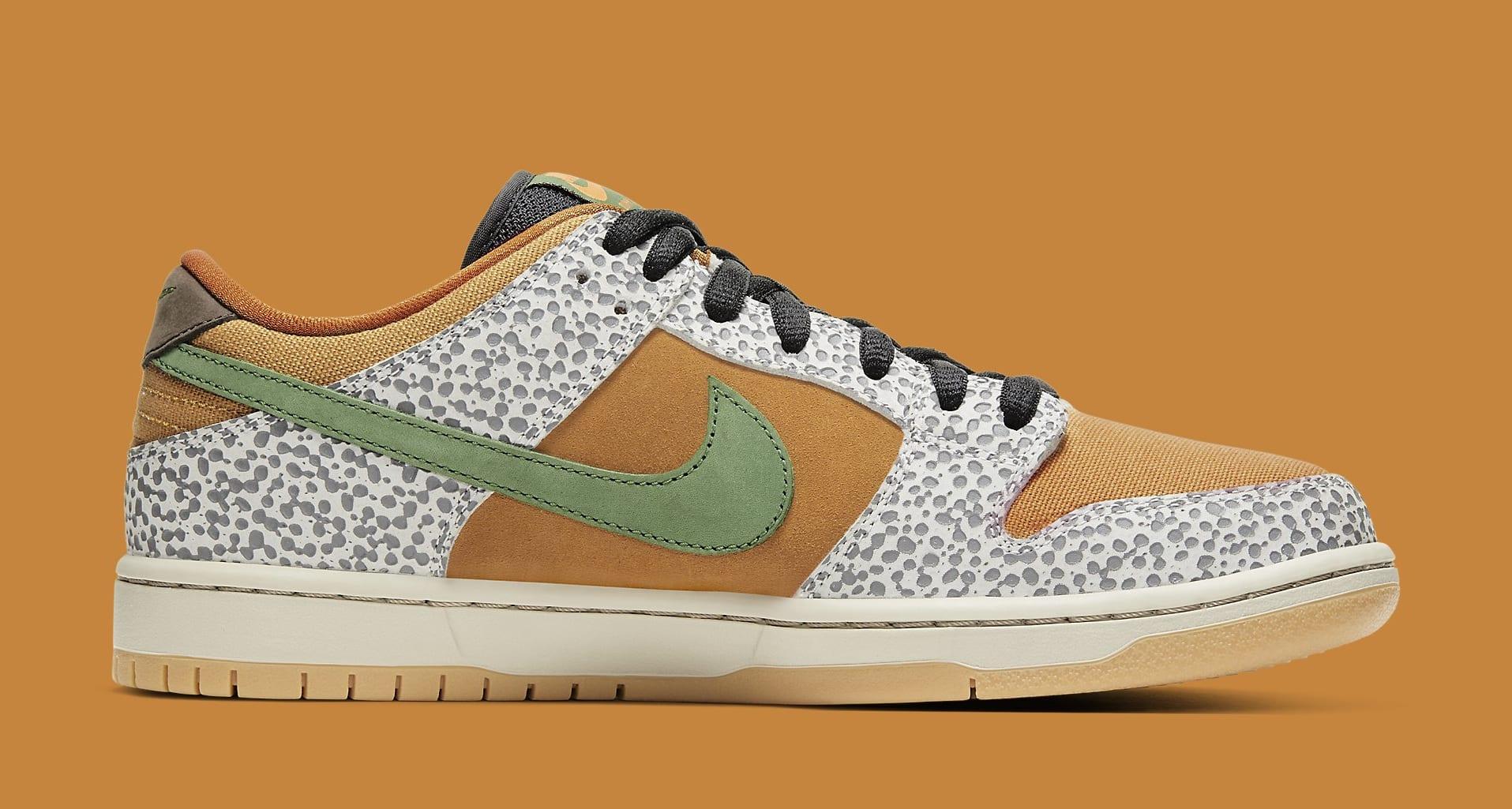 Nike SB Dunk Low 'Safari' CD2563-002 Medial