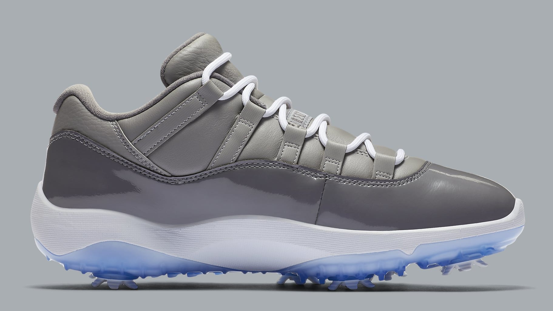 Air Jordan 11 Low Golf Cool Grey Release Date AQ0963-002 Medial