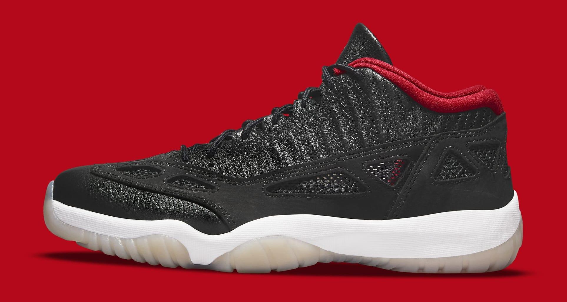 Air Jordan 11 Low IE 'Black/Red' 919712-023 Lateral