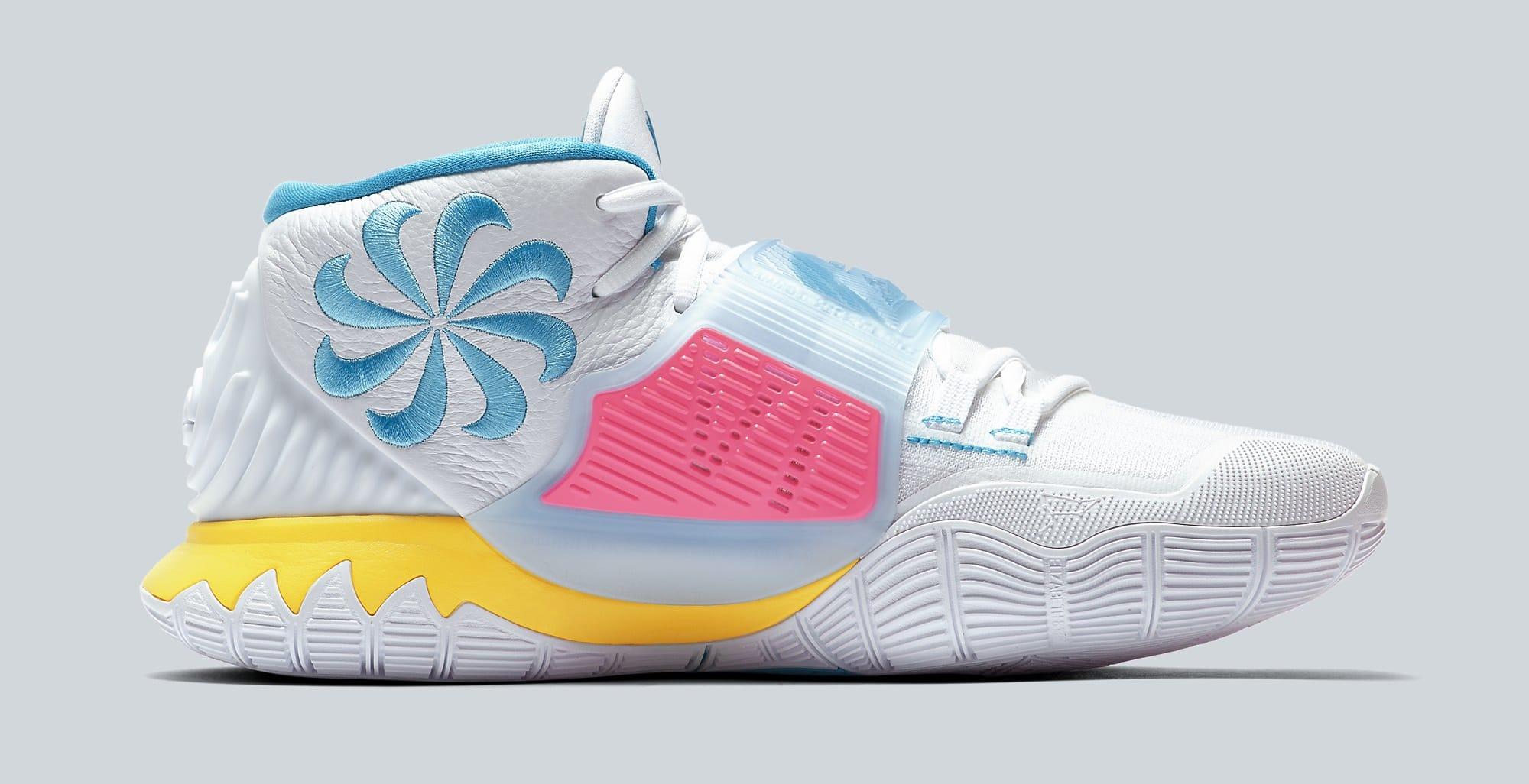 Nike Kyrie 6 'Neon Graffiti' BQ4630-101 Medial