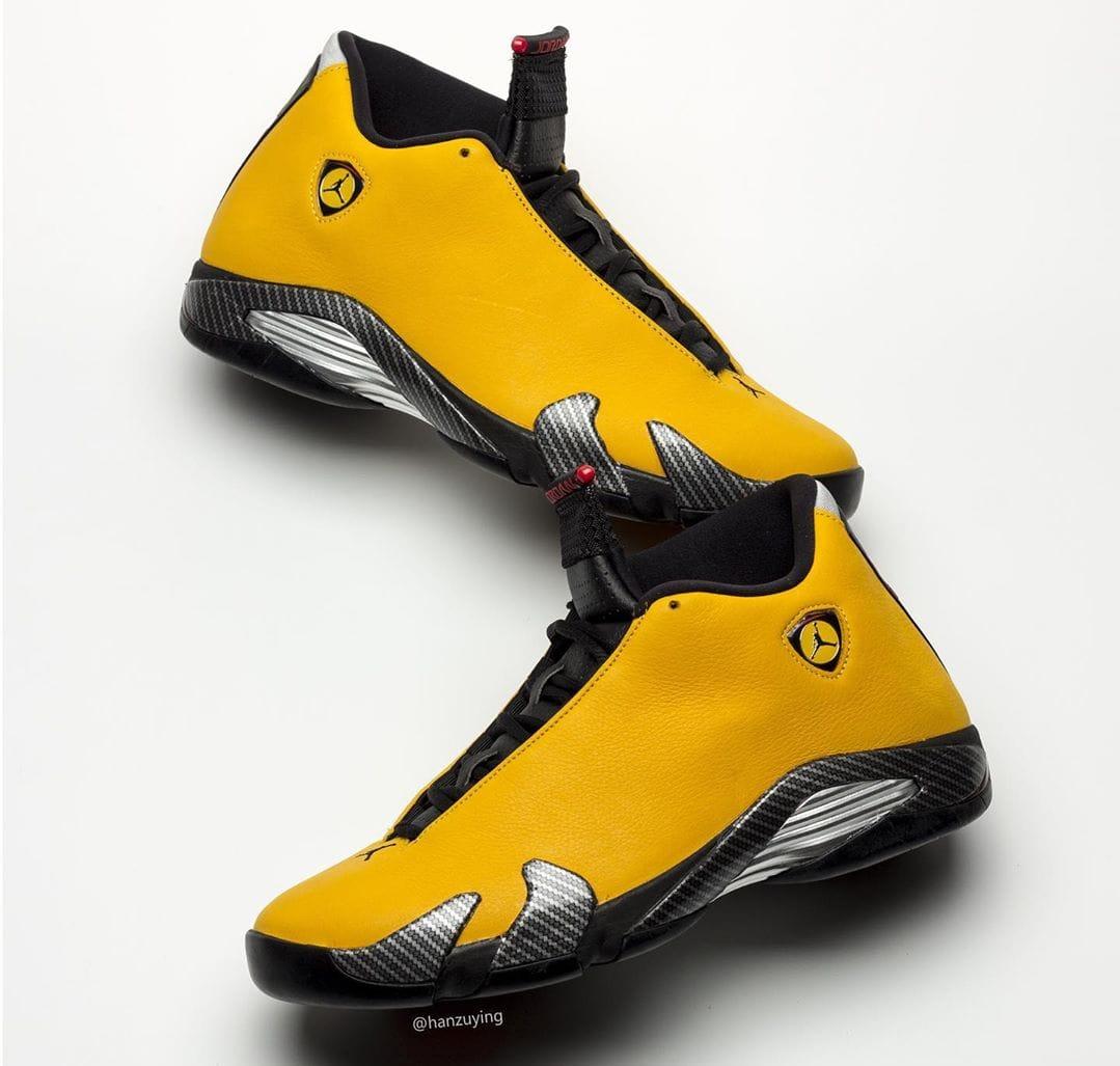 reputable site 91c6a d3286 Air Jordan 14 Retro 'Yellow Ferrari' Release Date 06/22/19 ...